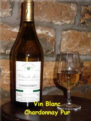 Vin Blanc - Chardonnay pur - Clavelin